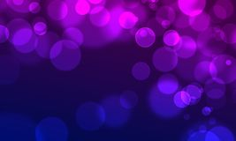 Abstract background circle lights bokeh web style Royalty Free Stock Photography