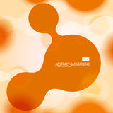 Abstract background with circle metaball Stock Photos