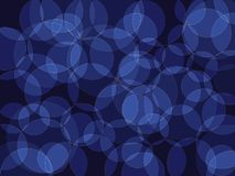 Abstract background. Circle orb dark blue black shades abstract vector background Stock Images
