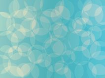 Abstract background. Circle orb light blue shades abstract vector background Stock Photos