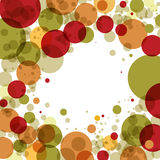 Abstract background with circles Stock Photos