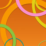 Abstract background with circles. Vector vector illustration