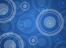 Abstract background with circles royalty free illustration