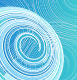 Abstract background of circles. Abstract blue background with lines and circles Stock Image