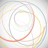 Abstract background with circles. Abstract background with colour circles. Design for you Stock Images