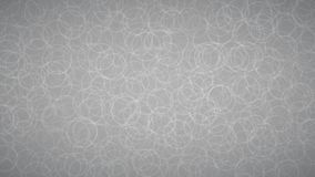 Abstract background of circles. Abstract background of randomly arranged contours of circles in gray colors Royalty Free Illustration