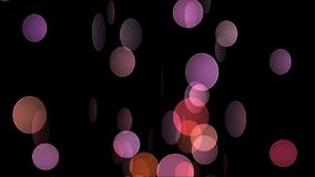 Abstract background with circles. Alpha stock video footage