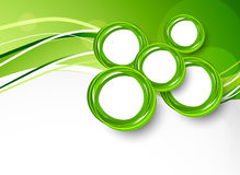 Abstract background with circles Stock Photography