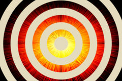 Abstract background of circles and burst Royalty Free Stock Images