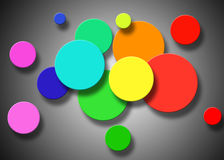 Abstract background of circles Royalty Free Stock Photos