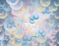 Abstract background with circles. Abstract colored background with circles Royalty Free Stock Images