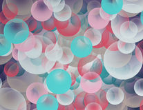 Abstract background with circles. Abstract colored background with circles Royalty Free Stock Photography