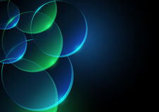 Abstract Background with Circles. Colored Illustration, Vector Stock Images