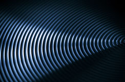 Abstract background with circles. Abstract dark background with circles in blue colors Stock Photography