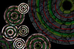 Abstract background with circles Royalty Free Stock Images