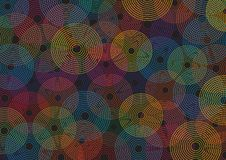 Abstract background with circles. This is file of EPS8 format Stock Photos