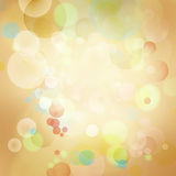 Abstract background. Circles of light abstract background Stock Image