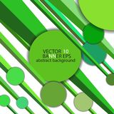 Abstract background with circles and lines green. Abstract background with circles and lines stock illustration