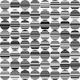 Abstract BW Background with Circles and Lines. Abstract Background with Circles  and Lines, Grunge Background in Circle Style, Modern Geometrical Abstract Stock Photography