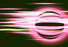 Abstract background with circles and lines motion. A graphic of abstract background with circles and lines motion stock illustration