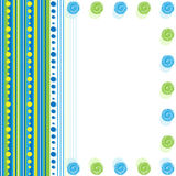 Abstract background from circles and lines. Vector abstract background from circles and lines Stock Photography