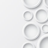 Abstract background with circles. Perfect for your presentations. Vector illustration Royalty Free Stock Images
