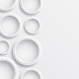 Abstract background with circles Royalty Free Stock Image