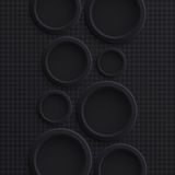 Abstract background with circles Royalty Free Stock Photo