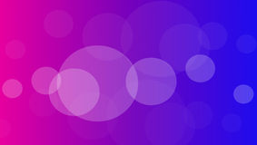 Abstract background with circles. Pink blue abstract background with white transparent circles Royalty Free Stock Photo