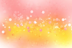 Abstract background. Circles abstract pink and yellow color background Royalty Free Stock Photos
