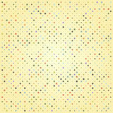 Abstract background with circles in retro colors. Eps10 Stock Photo