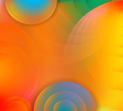 Abstract background with circles Royalty Free Stock Photos