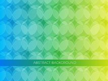 Abstract background with circles. Abstract background, circles in yellow, green and blue colors. Can be used for web, banners, templates Stock Photography
