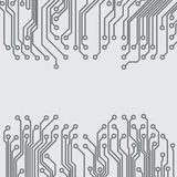 Abstract background with circuit board. Texture. EPS10 vector royalty free illustration