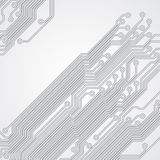 Abstract background with a circuit board texture Royalty Free Stock Photography