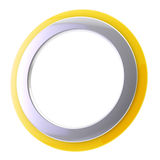 Abstract background circular frame isolated Stock Images
