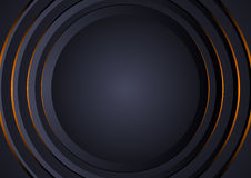 Abstract Background with Circular Layers Stock Photography