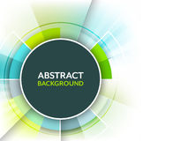 Abstract background with a circular space for text. royalty free illustration