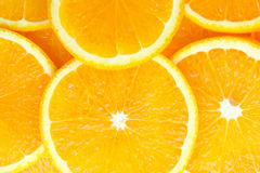 Abstract background with citrus-fruit of orange slices Royalty Free Stock Photography