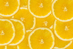 Abstract background with citrus-fruit of orange slices. Stock Photography
