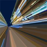 Abstract background of a city street at speed. Abstract background of city street at speed Stock Image