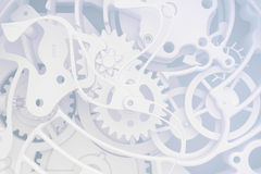 Abstract background of the clock Royalty Free Stock Photography