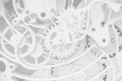 Abstract background of the clock Royalty Free Stock Photo
