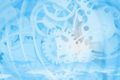 Abstract background of the clock Stock Images