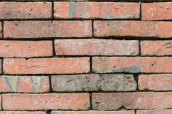 Abstract background close up red brick wall Royalty Free Stock Photography