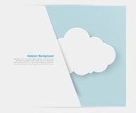 Abstract background cloud. Paper. illustration and design Stock Photos