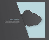 Abstract background cloud. Abstract background thunderstorm cloud. Paper. illustration and design Royalty Free Stock Photography