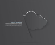 Abstract background cloud. Abstract background thunderstorm cloud. Paper. illustration and design Stock Photography