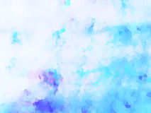 Abstract background-clouds. The abstract image of clouds with water color effect vector illustration