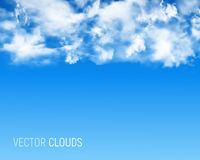 Abstract background with clouds Royalty Free Stock Image